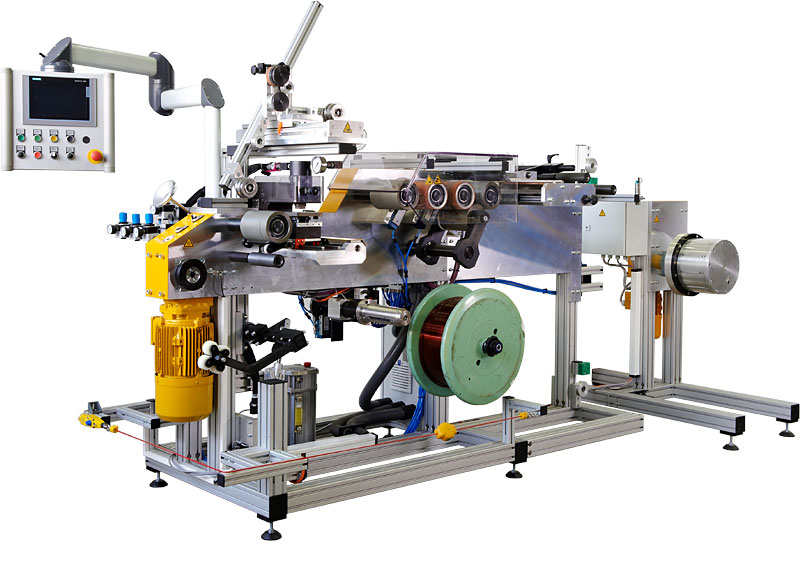 Strip/wire winding machine