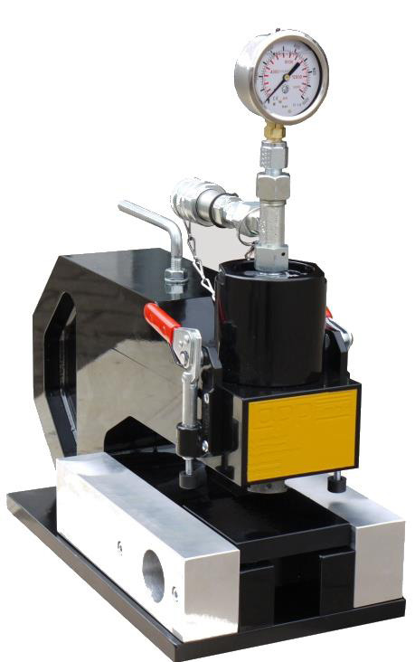 Cold pressure welding machine